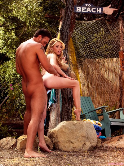 Lexi Belle From Behind